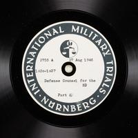 Day 212 International Military Tribunal, Nuremberg (Set A)  Click to enlarge