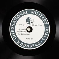 Day 213 International Military Tribunal, Nuremberg (Set A)  Click to enlarge