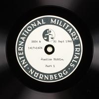 Day 217 International Military Tribunal, Nuremberg (Set A)  Click to enlarge
