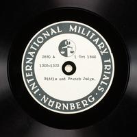 Day 218 International Military Tribunal, Nuremberg (Set A)  Click to enlarge