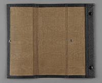 2012.455.9 open Black Certificate of Citizenship document case belonging to German Jewish prewar emigre  Click to enlarge