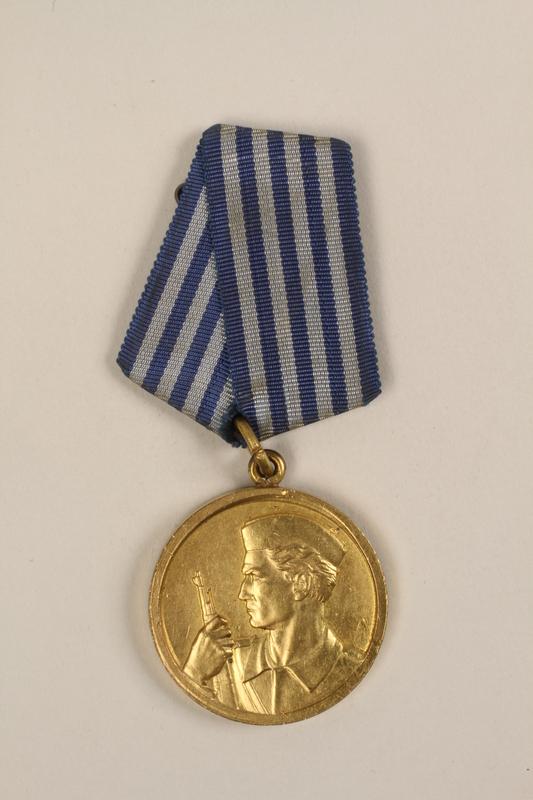 1993.167.7 front Medal of Honor awarded to Yugoslav partisans for bravery