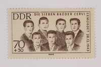 1993.21.1.124 front Postage stamp  Click to enlarge