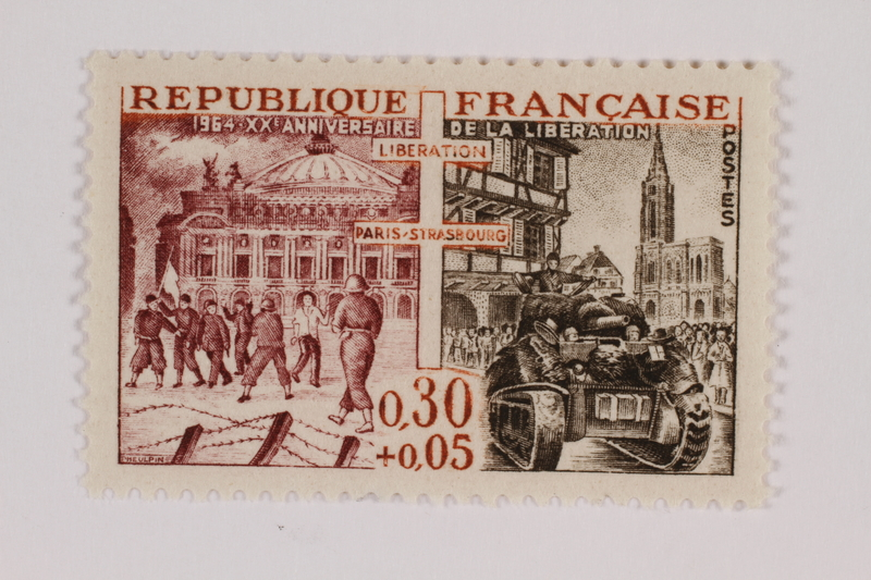 1993.21.1.128 front Postage stamp