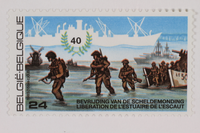 1993.21.1.129 front Postage stamp