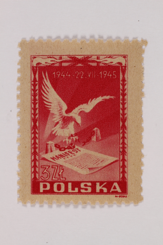 1993.21.1.143 front Postage stamp