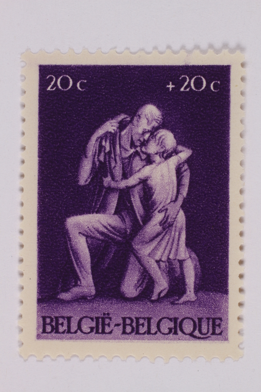 1993.21.1.158 front Postage stamp