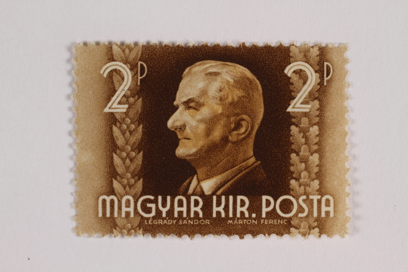 1993.21.1.16 front Postage stamp