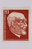 1993.21.1.164 front Postage stamp  Click to enlarge