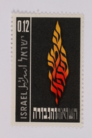 1993.21.1.166 front Postage stamp  Click to enlarge