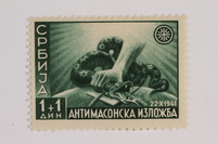 1993.21.1.3 front Postage stamp  Click to enlarge