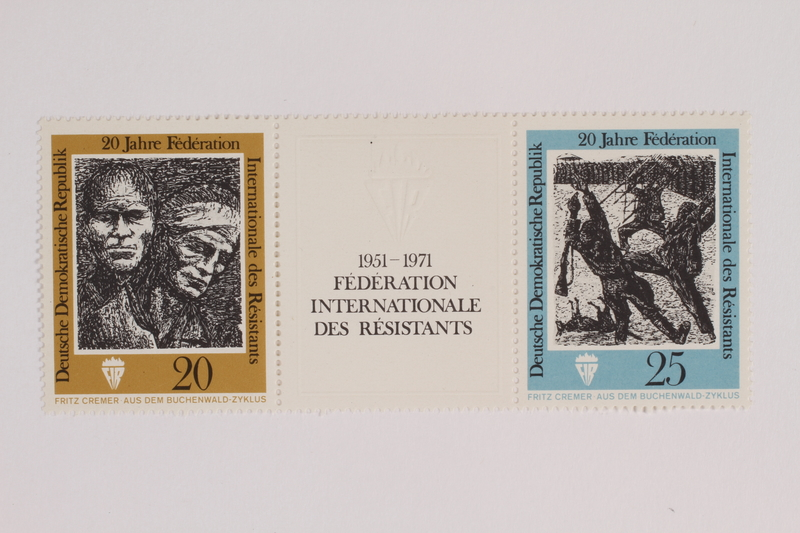 1993.21.1.42 front Postage stamp