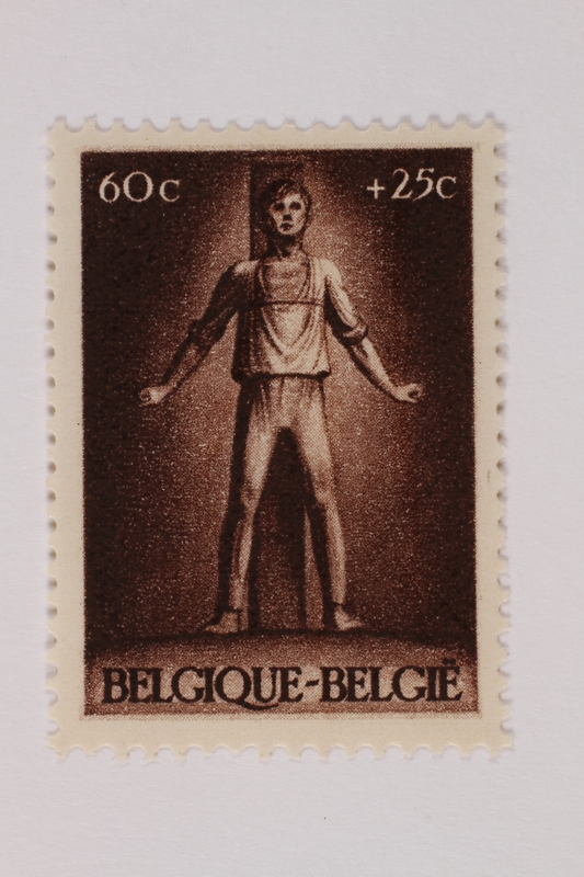 1993.21.1.43 front Postage stamp