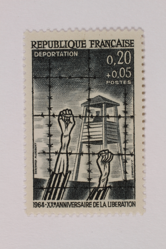 1993.21.1.44 front Postage stamp