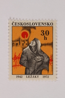 1993.21.1.54 front Postage stamp  Click to enlarge