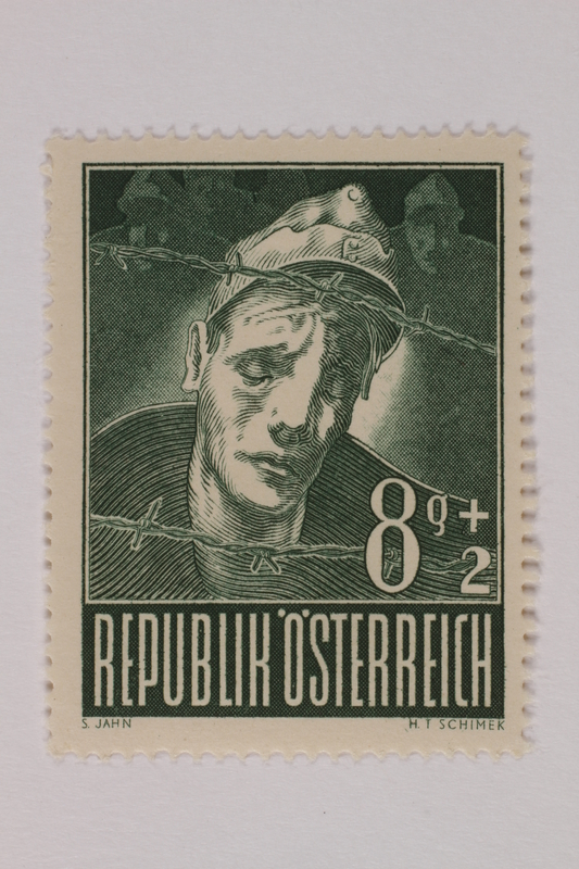 1993.21.1.61 front Postage stamp