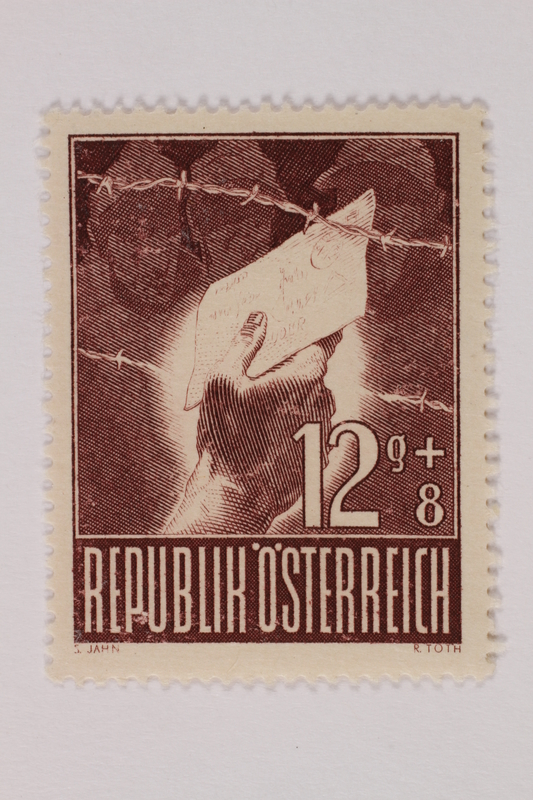 1993.21.1.62 front Postage stamp
