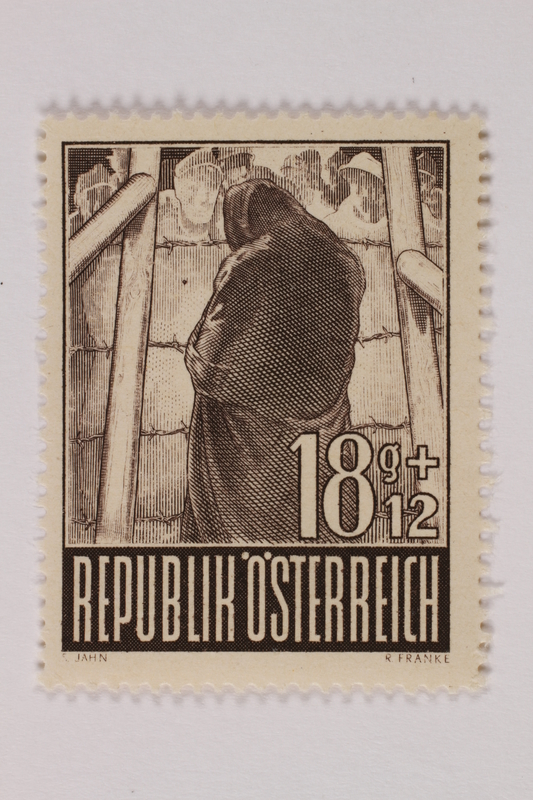 1993.21.1.63 front Postage stamp