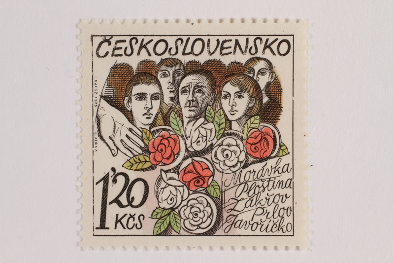 1993.21.1.69 front Postage stamp