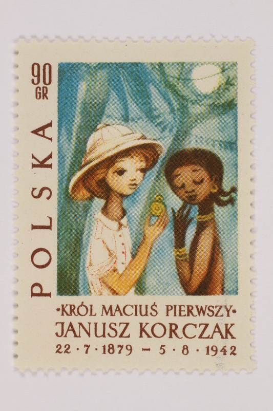 1993.21.1.85 front Postage stamp