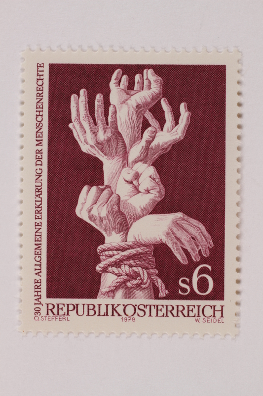 1993.21.4 front Postage stamp