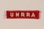 UNRRA patch