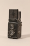 Black Rolleiflex camera with Zeiss lens