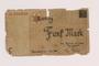 Łódź (Litzmannstadt) ghetto scrip, 5 mark note, acquired by a Jewish Polish survivor