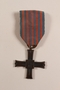 Monte Cassino Commemorative Cross awarded to a Jewish soldier, 2nd Polish Corps