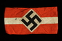 Hitler Youth armband with a swastika acquired by a US soldier