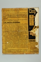 1993.35.1_a front Nazi propaganda poster exposing the Jewish conspiracy links to the Allied Nations  Click to enlarge