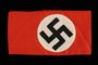 Nazi armband with a swastika acquired by a US soldier