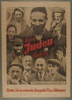 1993.72.1 front Antisemitic propaganda poster  Click to enlarge