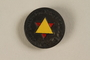 Star of David membership pin owned by a former concentration camp inmate