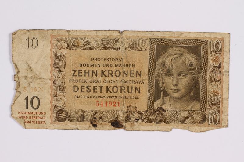 2014.480.121 front ten kronen scrip
