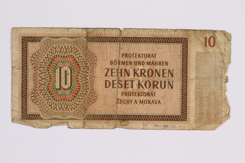 2014.480.121 back ten kronen scrip