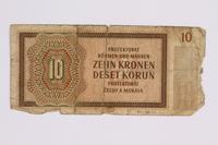 2014.480.121 back ten kronen scrip  Click to enlarge
