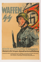 2014.496.1 front Waffen-SS recruiting poster  Click to enlarge