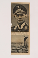 2014.480.19 a front Bernhard Ramcke clipping  Click to enlarge