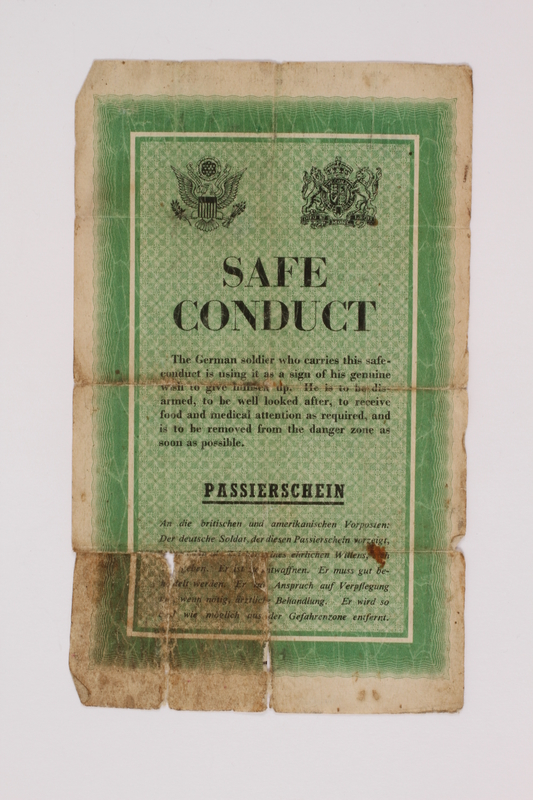 2014.480.17 front Safe conduct pass