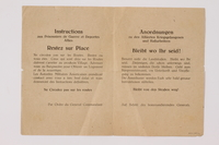 2014.480.16 back Instructions for Allied Prisoners of War and Displaced Persons  Click to enlarge