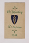 Christmas card, 8th Infantry division, 1944