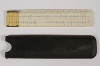 2014.480.44 a-b front Slide rule with case  Click to enlarge