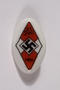 Hitler Youth badge acquired by an American soldier
