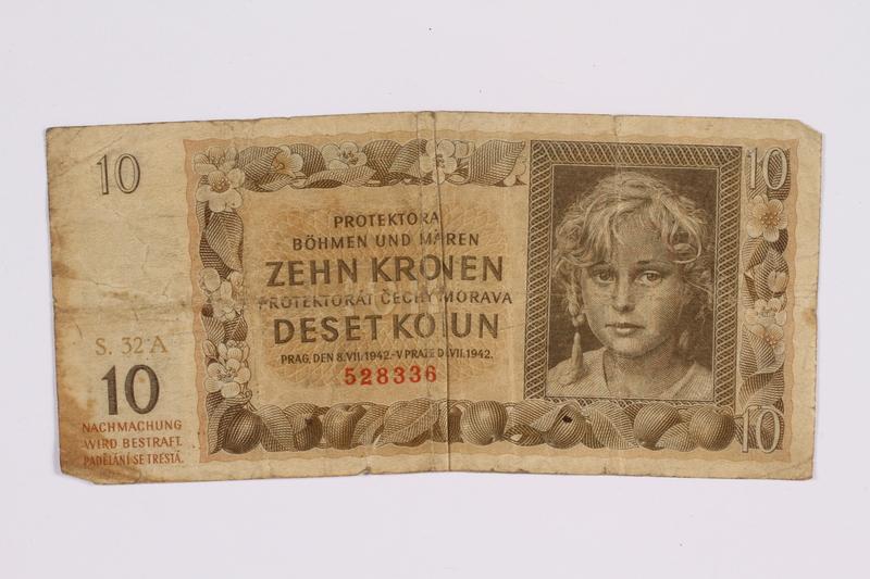 2014.480.123 front ten kronen scrip