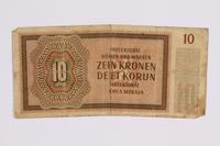 2014.480.123 back ten kronen scrip  Click to enlarge