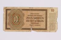 2014.480.119 back ten kronen scrip  Click to enlarge
