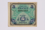 French five francs scrip