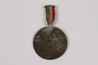 2014.480.51 a-b back WWI Touring Club of France fundraising medal  Click to enlarge