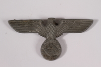 2014.480.35 front German eagle emblem, Kriegsmarine  Click to enlarge